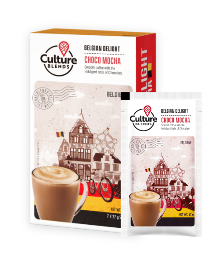 Culture Blend Coffee - Belgian Choco Mocha